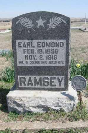 RAMSEY, EARL EDMOND  (VETERAN WWI, KIA) - Chautauqua County, Kansas | EARL EDMOND  (VETERAN WWI, KIA) RAMSEY - Kansas Gravestone Photos