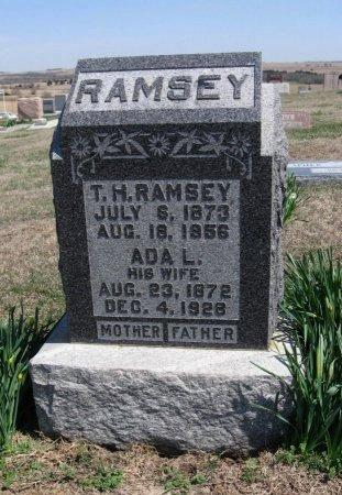 HELMICK RAMSEY, ADA LAURA - Chautauqua County, Kansas | ADA LAURA HELMICK RAMSEY - Kansas Gravestone Photos