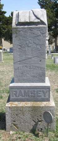 RAMSEY, WILLIAM H - Chautauqua County, Kansas | WILLIAM H RAMSEY - Kansas Gravestone Photos