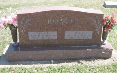 ROACH, ROY L - Chautauqua County, Kansas | ROY L ROACH - Kansas Gravestone Photos