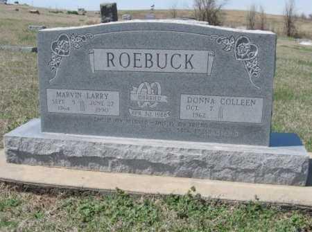 ROEBUCK, MARVIN LARRY - Chautauqua County, Kansas | MARVIN LARRY ROEBUCK - Kansas Gravestone Photos