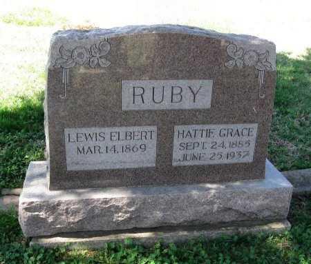 STERLING RUBY, HATTIE GRACE - Chautauqua County, Kansas   HATTIE GRACE STERLING RUBY - Kansas Gravestone Photos