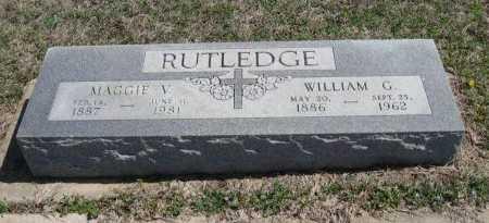 RUTLDGE, WILLIAM G - Chautauqua County, Kansas | WILLIAM G RUTLDGE - Kansas Gravestone Photos