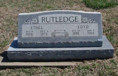 RUTLEDGE, LOYD - Chautauqua County, Kansas | LOYD RUTLEDGE - Kansas Gravestone Photos