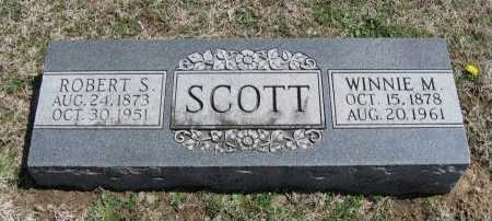 SCOTT, ROBERT S - Chautauqua County, Kansas | ROBERT S SCOTT - Kansas Gravestone Photos