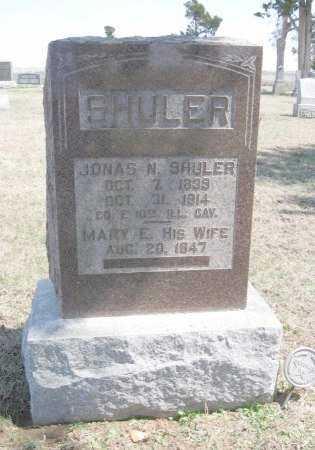 SHULER, MARY ELIZABETH - Chautauqua County, Kansas | MARY ELIZABETH SHULER - Kansas Gravestone Photos