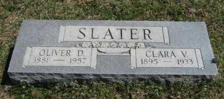 SLATER, CLARA V - Chautauqua County, Kansas | CLARA V SLATER - Kansas Gravestone Photos