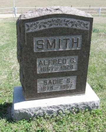 SMITH, ALFRED C - Chautauqua County, Kansas | ALFRED C SMITH - Kansas Gravestone Photos