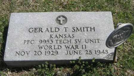 SMITH, GERALD T (VETERAN WWII) - Chautauqua County, Kansas   GERALD T (VETERAN WWII) SMITH - Kansas Gravestone Photos
