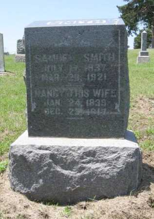 SMITH, NANCY JANE - Chautauqua County, Kansas | NANCY JANE SMITH - Kansas Gravestone Photos
