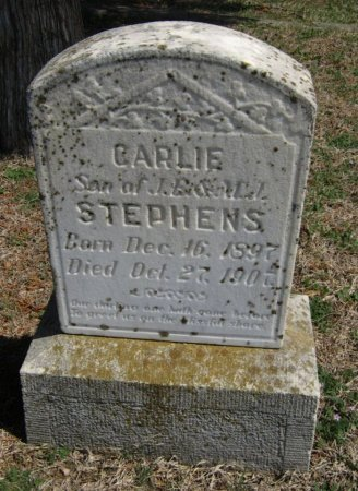 STEPHENS, BARLIE - Chautauqua County, Kansas   BARLIE STEPHENS - Kansas Gravestone Photos