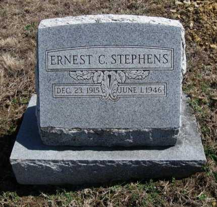 STEPHENS, ERNEST C - Chautauqua County, Kansas | ERNEST C STEPHENS - Kansas Gravestone Photos