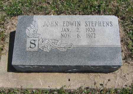 STEPHENS, JOHN EDWIN - Chautauqua County, Kansas   JOHN EDWIN STEPHENS - Kansas Gravestone Photos