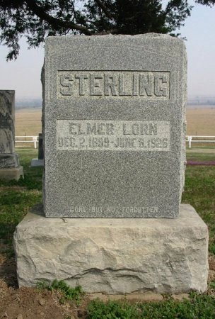 STERLING, ELMER LORN - Chautauqua County, Kansas   ELMER LORN STERLING - Kansas Gravestone Photos
