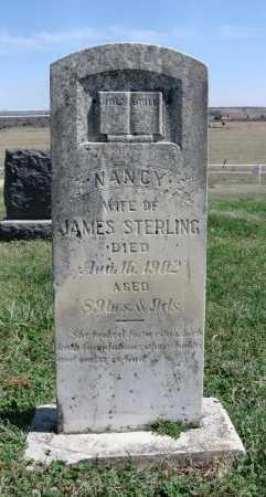 STERLING, NANCY K - Chautauqua County, Kansas   NANCY K STERLING - Kansas Gravestone Photos