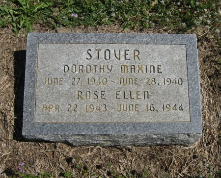 STOVER, DOROTHY MAXINE - Chautauqua County, Kansas | DOROTHY MAXINE STOVER - Kansas Gravestone Photos