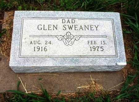 SWEANEY, GLEN - Chautauqua County, Kansas   GLEN SWEANEY - Kansas Gravestone Photos