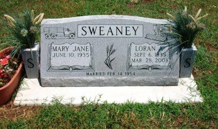 SWEANEY, LORAN A - Chautauqua County, Kansas | LORAN A SWEANEY - Kansas Gravestone Photos