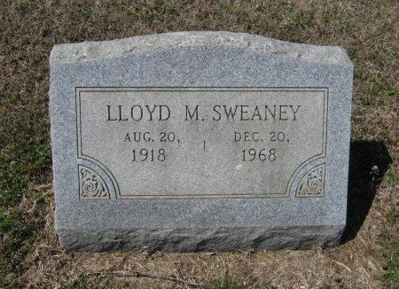 SWEANEY, LLOYD M - Chautauqua County, Kansas | LLOYD M SWEANEY - Kansas Gravestone Photos