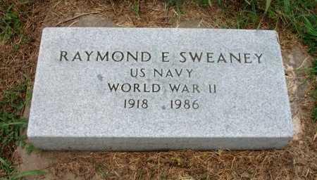 SWEANEY, RAYMOND E (VETERAN WWII) - Chautauqua County, Kansas | RAYMOND E (VETERAN WWII) SWEANEY - Kansas Gravestone Photos
