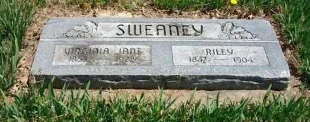 SWEANEY, RILEY - Chautauqua County, Kansas | RILEY SWEANEY - Kansas Gravestone Photos