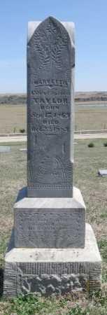 TAYLOR, MARY ETTIE - Chautauqua County, Kansas | MARY ETTIE TAYLOR - Kansas Gravestone Photos