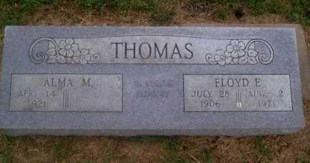THOMAS, FLOYD ELISHA - Chautauqua County, Kansas   FLOYD ELISHA THOMAS - Kansas Gravestone Photos