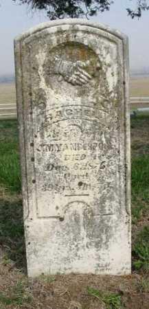 CARMICHAEL VANDERPOOL, RACHEL - Chautauqua County, Kansas | RACHEL CARMICHAEL VANDERPOOL - Kansas Gravestone Photos