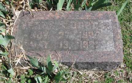 BURDEN, VERNE S - Chautauqua County, Kansas   VERNE S BURDEN - Kansas Gravestone Photos
