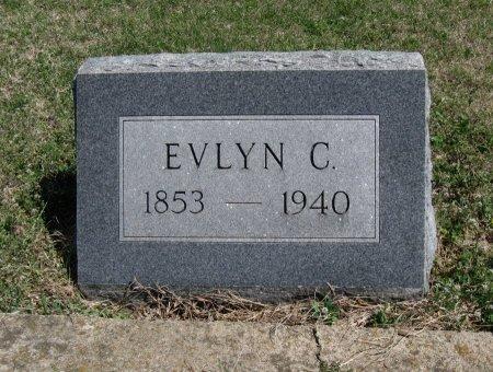 WARD, EVELYN C - Chautauqua County, Kansas   EVELYN C WARD - Kansas Gravestone Photos