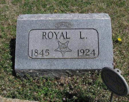 WARD, ROYAL L (VETERAN UNION) - Chautauqua County, Kansas | ROYAL L (VETERAN UNION) WARD - Kansas Gravestone Photos