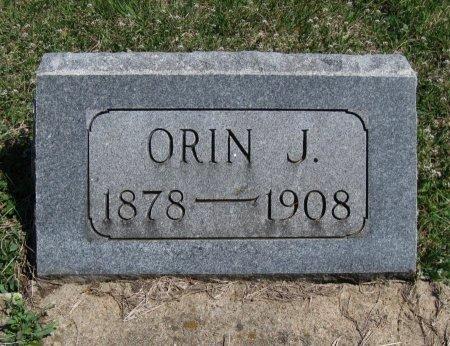 WARD, ORIN J - Chautauqua County, Kansas | ORIN J WARD - Kansas Gravestone Photos