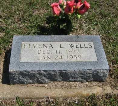WELLS, ELVENA LORAIN - Chautauqua County, Kansas | ELVENA LORAIN WELLS - Kansas Gravestone Photos