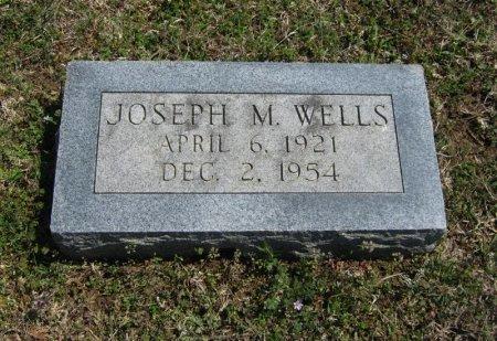 WELLS, JOSEPH M - Chautauqua County, Kansas | JOSEPH M WELLS - Kansas Gravestone Photos