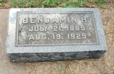 WEST, BENJAMIN H - Chautauqua County, Kansas   BENJAMIN H WEST - Kansas Gravestone Photos