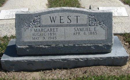WEST, SAMUEL E - Chautauqua County, Kansas | SAMUEL E WEST - Kansas Gravestone Photos