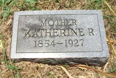 WEST, KATHERINE R - Chautauqua County, Kansas   KATHERINE R WEST - Kansas Gravestone Photos