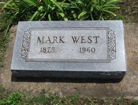 WEST, MARK - Chautauqua County, Kansas   MARK WEST - Kansas Gravestone Photos