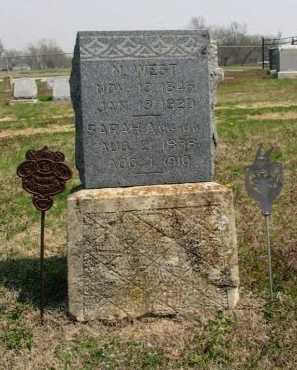 WEST, N - Chautauqua County, Kansas | N WEST - Kansas Gravestone Photos