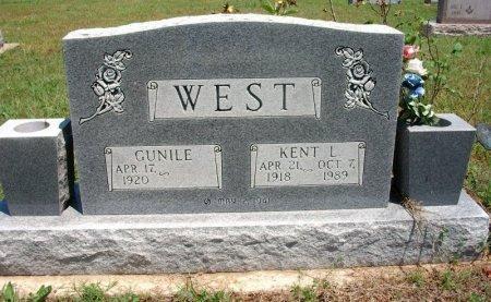 WEST, KENT LOREN ((VETERAN WWII) - Chautauqua County, Kansas | KENT LOREN ((VETERAN WWII) WEST - Kansas Gravestone Photos