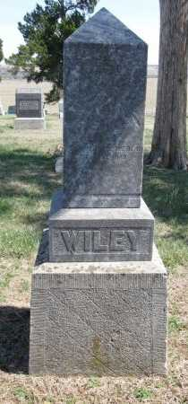WILEY, MARGARET - Chautauqua County, Kansas   MARGARET WILEY - Kansas Gravestone Photos