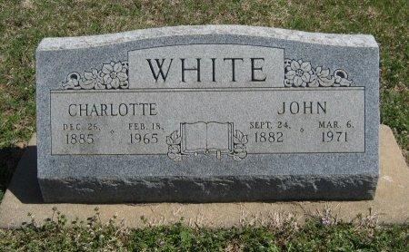 WHITE, CHARLOTTE - Chautauqua County, Kansas | CHARLOTTE WHITE - Kansas Gravestone Photos