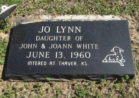 WHITE, JO LYNN - Chautauqua County, Kansas   JO LYNN WHITE - Kansas Gravestone Photos