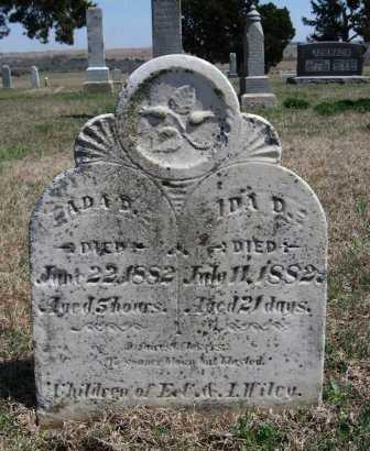 WILEY, ADA - Chautauqua County, Kansas | ADA WILEY - Kansas Gravestone Photos