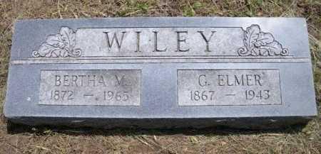 WILEY, GEORGE ELMER - Chautauqua County, Kansas | GEORGE ELMER WILEY - Kansas Gravestone Photos