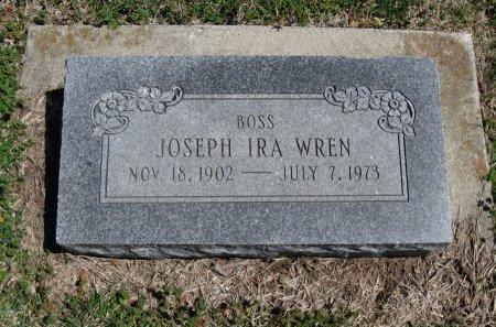 """WREN, JOSEPH IRA """"BOSS"""" - Chautauqua County, Kansas   JOSEPH IRA """"BOSS"""" WREN - Kansas Gravestone Photos"""