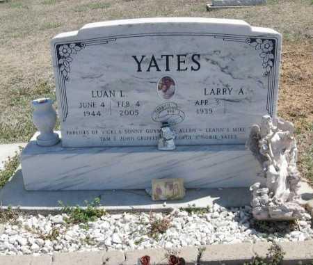 YATES, LARRY ALLEN - Chautauqua County, Kansas   LARRY ALLEN YATES - Kansas Gravestone Photos