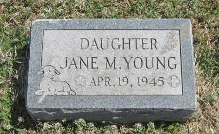 YOUNG, JANE M - Chautauqua County, Kansas   JANE M YOUNG - Kansas Gravestone Photos
