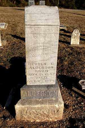 ALDERSON, REUBEN C - Cherokee County, Kansas   REUBEN C ALDERSON - Kansas Gravestone Photos