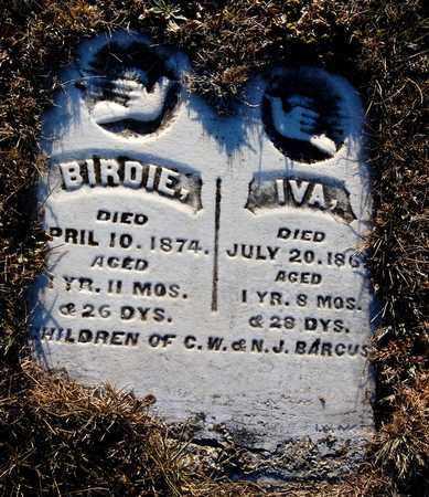 BARCUS, BIRDIE - Cherokee County, Kansas | BIRDIE BARCUS - Kansas Gravestone Photos